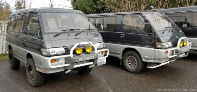 Mitsubishi Delica L300 L400 4WD turbo diesel