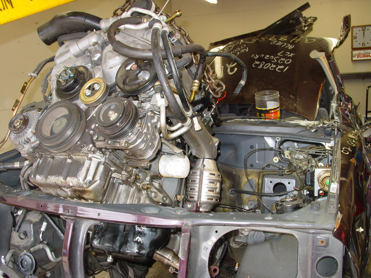 The 2.7-liter engine from the XL7