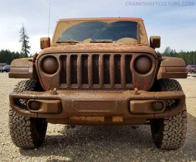 Jeep Wrangler Rubicon JL mud