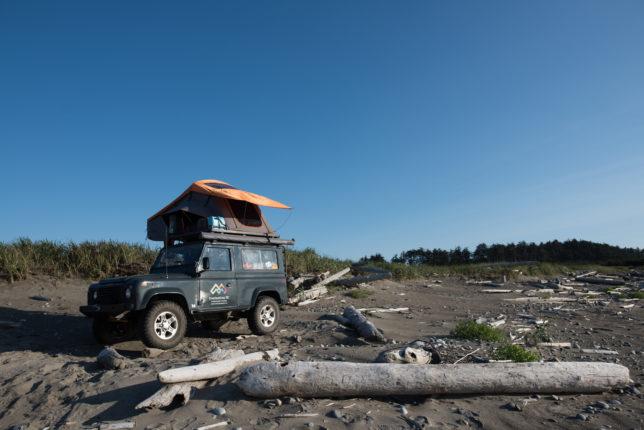 Haida Gwaii beach