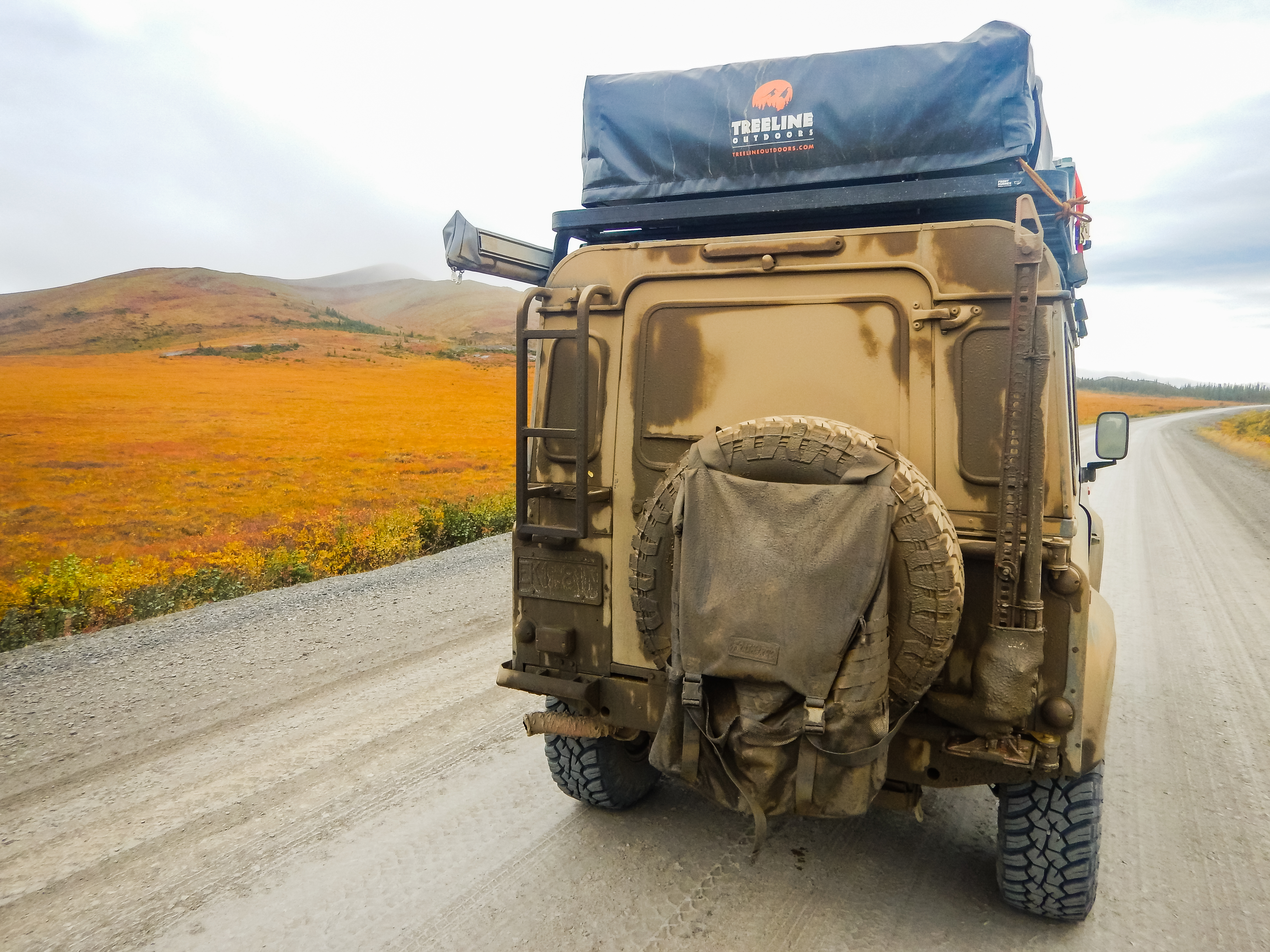 Crankshaft Chronicles Chris Walkers Land Rover Defender 90 Auxiliary Fuse Box You Can Never Get Enough Of The Nw Territory Fall Colors And Dempster Mud
