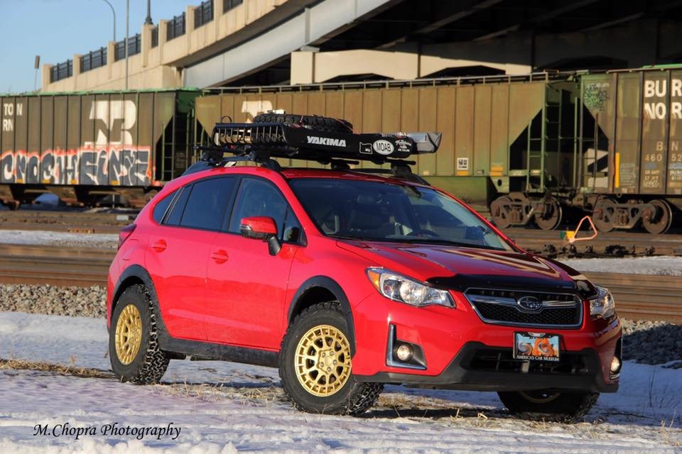 Subaru Crosstrek Red
