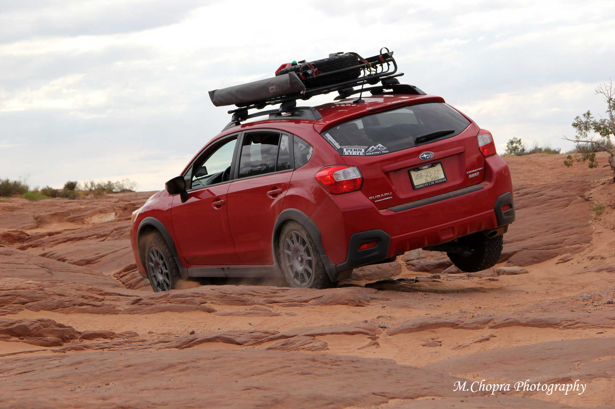 Subaru Crosstrek in Moab