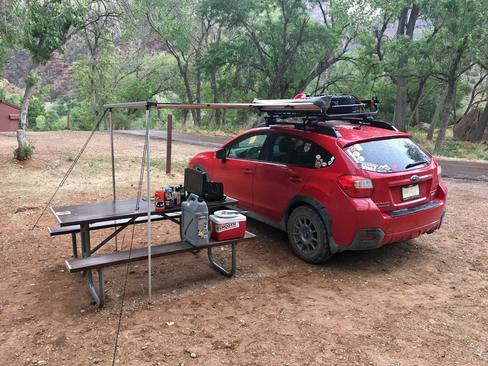 Subaru Crosstrek ARB Awning