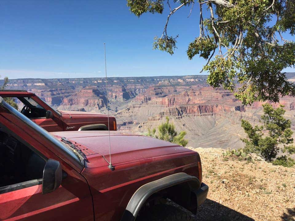 Jeep Cherokee in Arizona