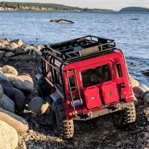 Land Rover TRX-4 at the beach