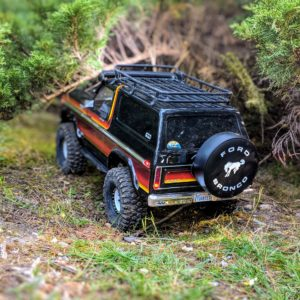 Traxxas TRX-4 in the forest