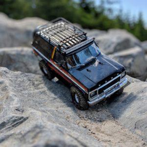 Realistic Traxxas TRX-4 Bronco