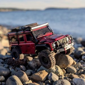 Traxxas TRX-4 at the beach