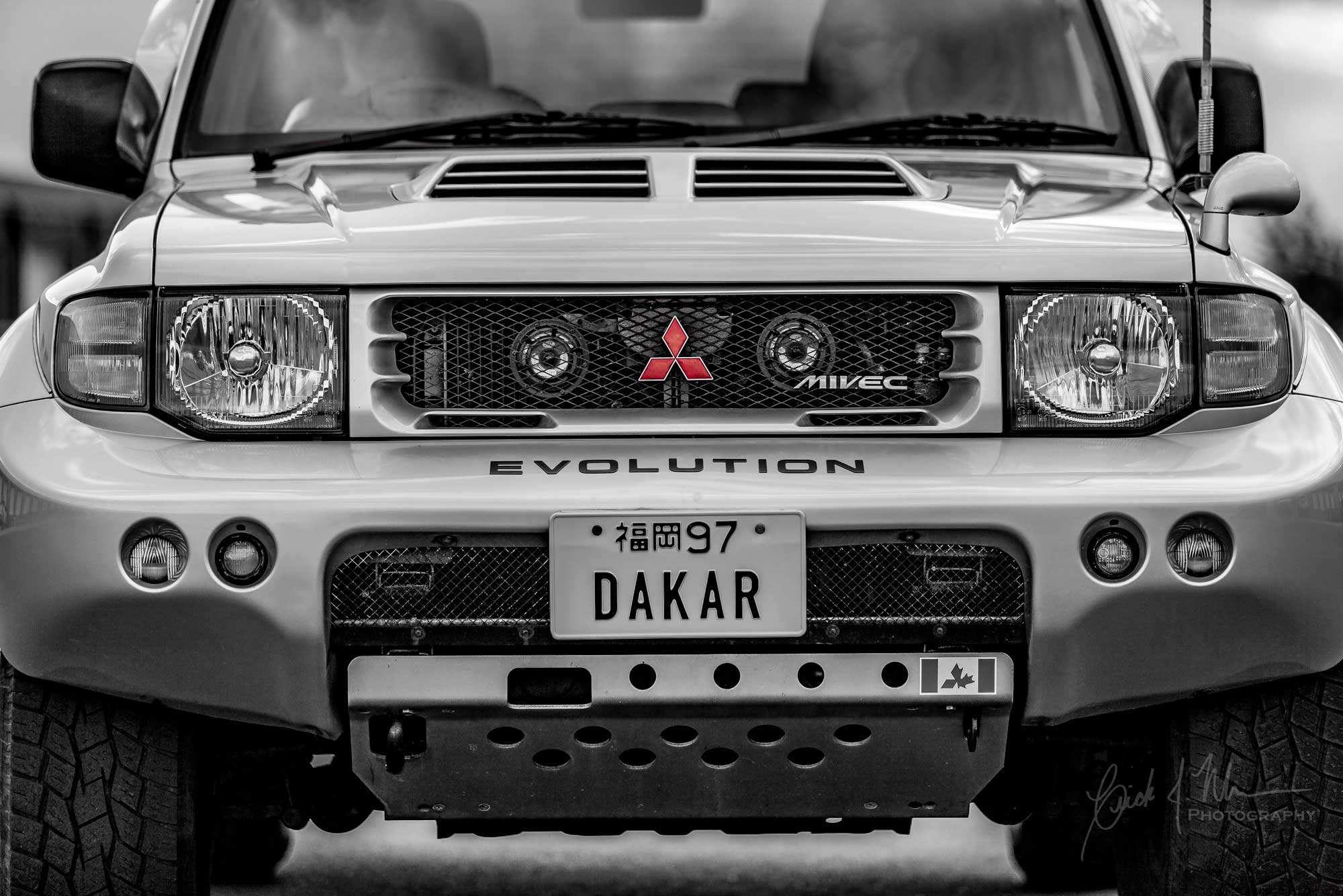 Pajero Evolution front