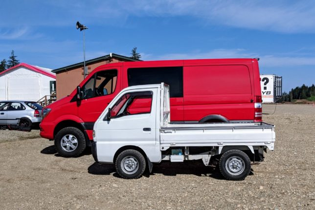 Suzuki Carry vs. Mercedes-Benz Sprinter
