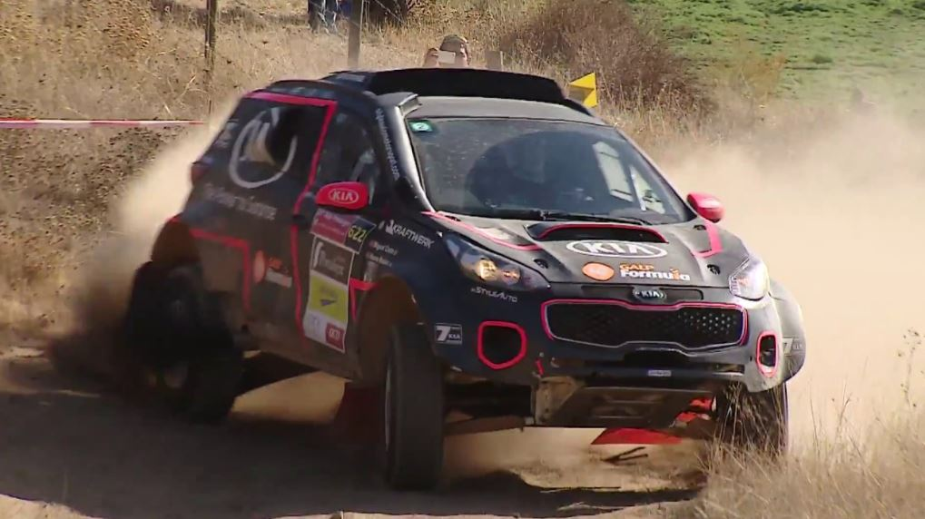 Kia Sportage Rally Car