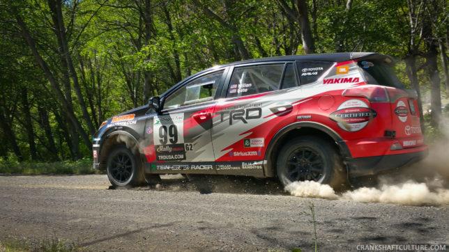 Ryan Millen's Rally Toyota RAV4