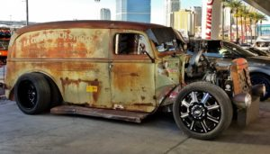 Rat Rod Delivery Van