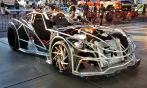 Tube body Corvette