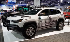 Lifted new Jeep Cherokee KL