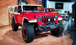 Red Mopar Jeep JL Wrangler