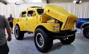 Yellow Volvo Sugga