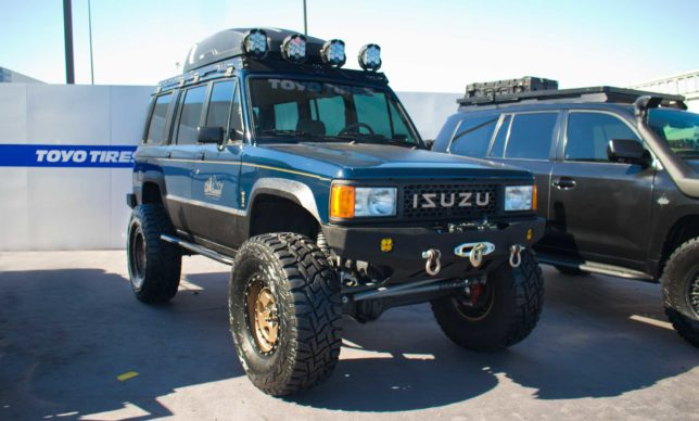 Custom Isuzu Trooper SEMA