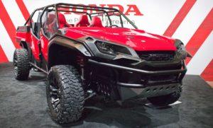 Honda Ridgeline and Pioneer hybrid