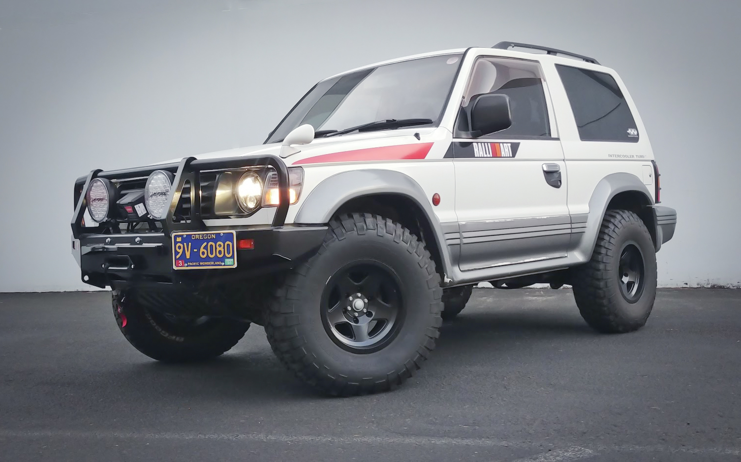 The Ralllitractor - 1992 Mitsubishi Pajero