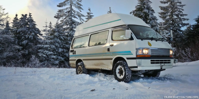 Hi-Tip Hiace campervan