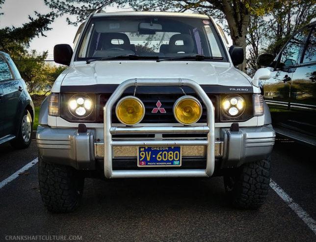JW Speaker 8700 Evo 2 headlights Mitsubishi