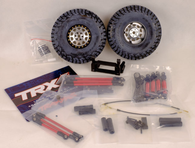 Traxxas TRX4 lift kit