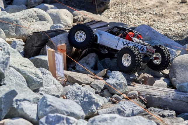 Ed C. Yota bodied  RC crawler