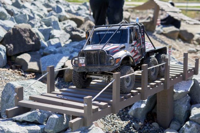 Custom 6x6 CXT RC crawler