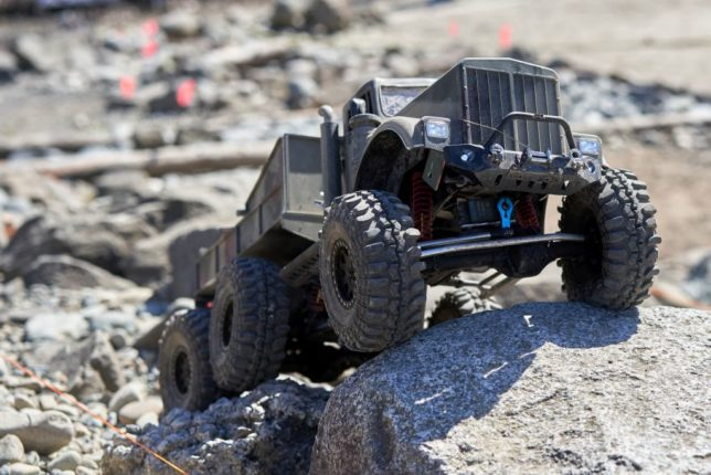 Military 6x6 RC crawler