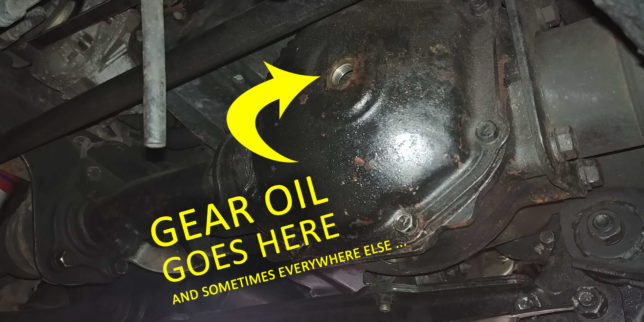 Gear Oil Change lead