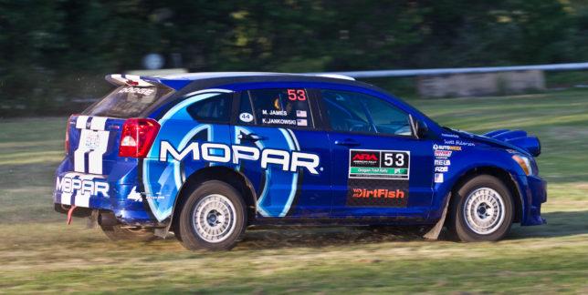 Dodge Caliber SRT4 rally car