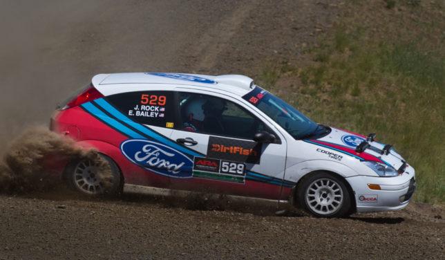 2001 Ford Focus rally car