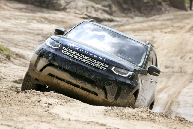 Land Rover Discovery Diesel off road