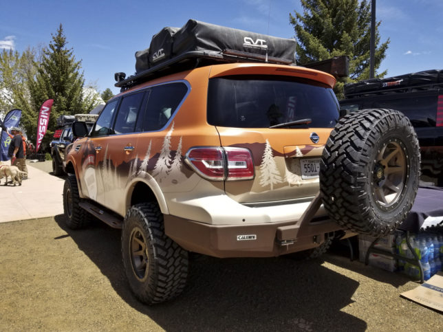 Nissan Armada overland vehicle