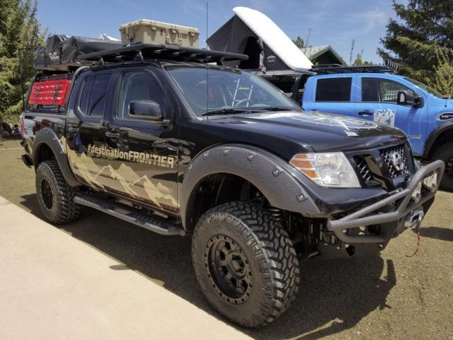 Nissan Frontier overland truck