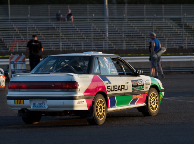 Retro Colin McRae Subaru Legacy livery