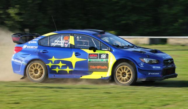 Travis Pastrana's Subaru Rally Car