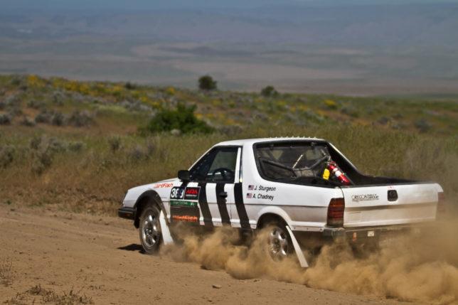 1985 Subaru Brat Rally Car