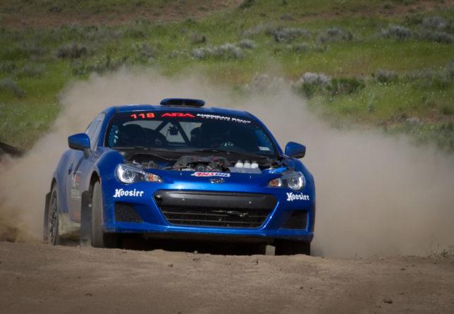Subaru BRZ rally car