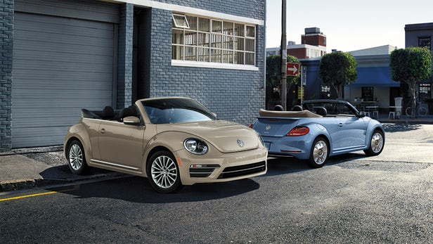2019 VW Beetle Convertible Final Edition