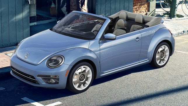 Volkswagen New Beetle FInal Edition Convertible