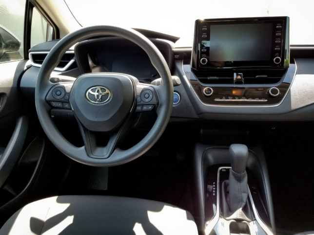 2020-Toyota-Corolla-Hybrid-interior