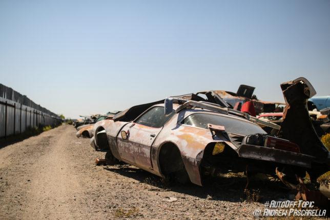 Junk Pontiac Firebird