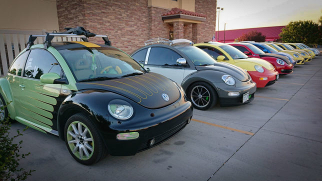 Custom Beetles at R2R 2019 in Roswell, NM
