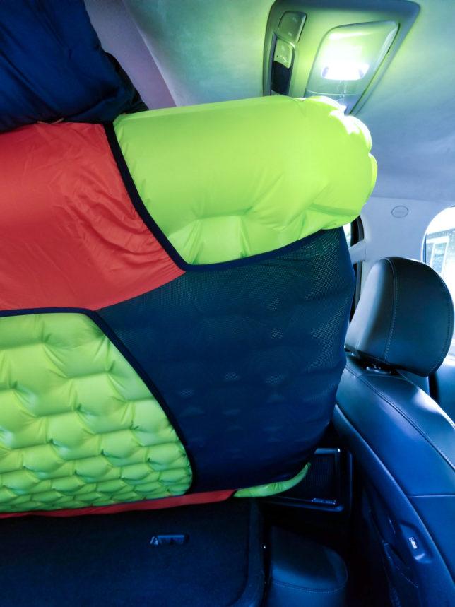 Big Agnes double-wide sleeping bag and pad