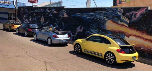 VW Beetle Final Edition at R2R