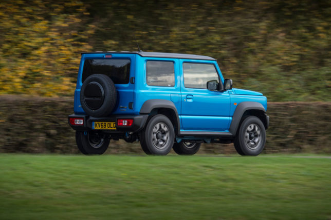 UK-spec 2019 Suzuki Jimny