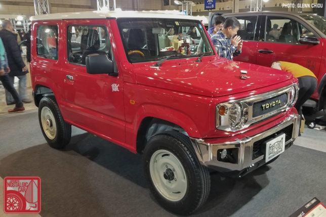 Toyota badged Suzuki Jimny from Tokyo Auto Salon